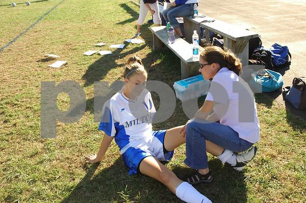 Milton Girls Soccer vs. Lamoille