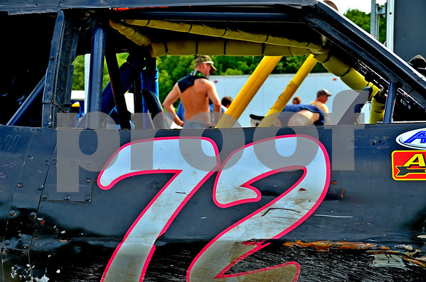 - Messenger photo by Britt Kudla<br /> Races were held at Mineral City Speedway on Sunday night