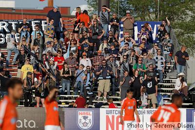 Minnesota United FC vs  Carolina RailHawks May 24,2014
