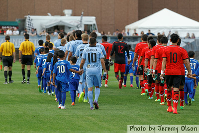 Minnesota United FC vs. Mexico U-21 National Team;miguel ibarra
