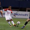 Stephen DeRoux defender San Antonio Scorpions<br /> Simone Bracalello forward Minnesota United FC