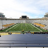 CHAD WEAVER | THE GOSHEN NEWS<br /> A view of the ongoing construction projects at Notre Dame stadium prior to the start of Saturday's Blue-Gold game.