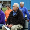 Longtime Bethany Christian athletic director and coach, Dan Bodiker, was among those in attendance for Saturday's groundbreaking ceremony for a new athletics complex at the school.