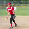 SAM HOUSEHOLDER | THE GOSHEN NEWS<br /> Elizabeth Ramirez pitches during the Goshen 9/10 All-Star Game Wednesday against Mishawaka in Goshen.