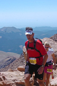 "pike's peak marathon - climbing ""the stairs"""