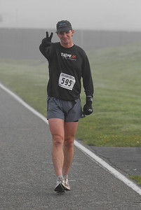 2009 Nookachamps Half Marathon - happy to be alive and running.