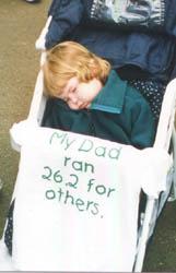 Long day for kk - 1999 San Diego Rock 'n Roll Marathon.