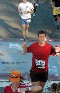 2007 Marine Corps Marathon - finishing.