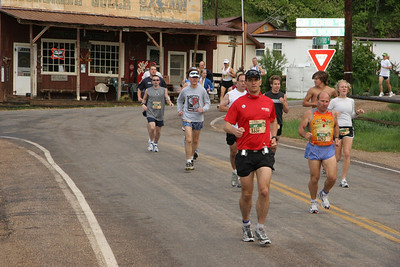 2006 Deadwood Mickelson Trail Marathon - early miles.