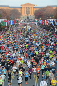 2011 Philadelphia Marathon start