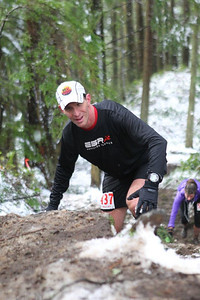 "climbing the ""little chinscraper"" - doing the chuckanut 50k."