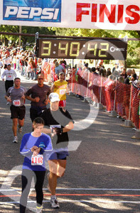 2006 Top of Utah Marathon - a new personal best.