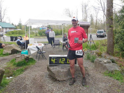 2011 Northwest Trail Series Marathon - Soaring Eagle Park - first marathon finisher overall
