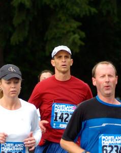 2004 Portland Marathon - mile 20.