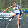 Bryan Helvie | The Herald-Tribune<br /> HURDLES: Batesville's Clare Bruns placed third in the 100-meter hurdles.