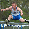Bryan Helvie | The Herald-Tribune<br /> EVENT WINNER: Batesville hurdler Peter Heil placed first in the 110-meter event with a time of 17.5.