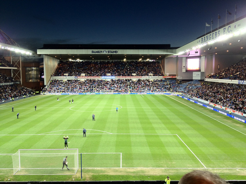 Rangers Legends v AC Milan Glorie game at Ibrox.<br /> 30th March 2012