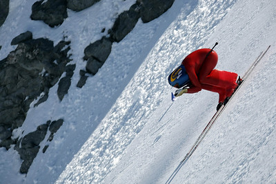 Speed skiing Philippe MAY (SUI)