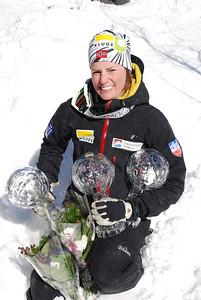 Telemark World Cup winner 2007/2008 Sigrid Rykhus NOR