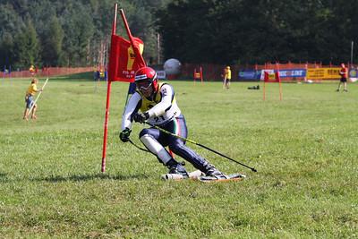 Grass skiing WCS 2009 Rettenbach Frau Eduardo (ITA) got Bronze   Credit Klaus Krückel