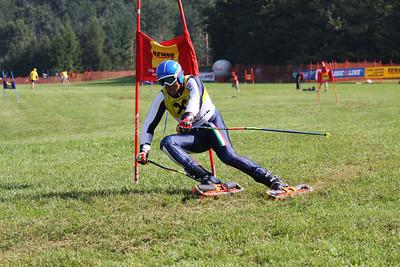 Grass skiing WCS 2009 Rettenbach  Stefano Sartori (ITA) got Silver   Credit Klaus Krückel