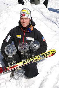 Telemark World Cup winner 2007/2008 Borge Sovik NOR