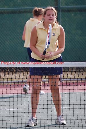 Mariemont JHS Girls Tennis 2007