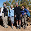 untitled-0193<br /> L>R Linda, Jackie, Frank and Roberta at the end of the hike.