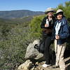 Ellen and Bonnie taking a breather break. We were lucky we had a cool morning with a nice breeze. Coming down this trail 5+ hours later, we were glad we were descending. The wind died and the temperature rose about 20 degrees.