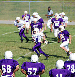 Mission's first touchdown run.