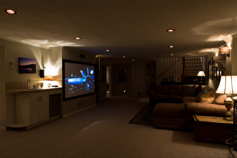 Downstairs Home Theater 2