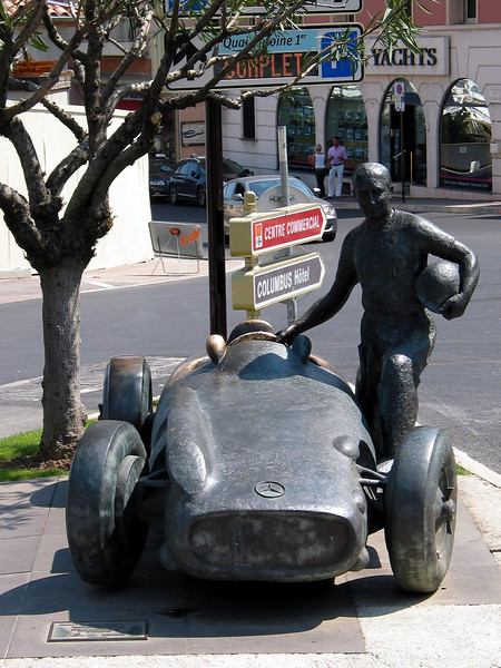 Sculpture in Monaco