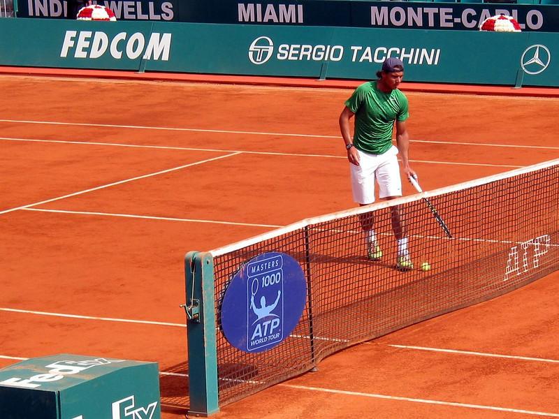 Rafa's Warmup Before the Final