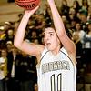 Monarch High School junior Rebecca Richmond shoots a three-pointer on Friday, Feb. 25, during a basketball game against Chatfield High School at Monarch. Monarch defeated Chatfield 66-38.<br /> Jeremy Papasso/ Camera