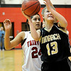 "Monarch High School junior Ashton Davis takes a shot on Friday, Feb. 11, during a basketball game against Fairview High School at Fairview. Monarch defeated Fairview 44-37. For more photos go to  <a href=""http://www.dailycamera.com"">http://www.dailycamera.com</a><br /> Jeremy Papasso/ Camera"
