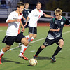 "Amos Nash, left, of Fairview, gets an advantage on Nate Blank of Fossil Ridge.<br /> For more photos of the game, go to  <a href=""http://www.dailycamera.com"">http://www.dailycamera.com</a>.<br /> Cliff Grassmick / October 13, 2011"