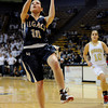 "Legacy High School's Emiley Lopez goes for a lay-up during the Class 5A Colorado State Championship game against Monarch High School on Friday, March 9, at the Coors Event Center on the University of Colorado campus in Boulder. Legacy won the game 58-51. For more photos of the game go to  <a href=""http://www.dailycamera.com"">http://www.dailycamera.com</a><br /> Jeremy Papasso/ Camera"