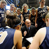 "Legacy High School Head Coach Craig Van Patten talks with his team during a time-out in the Class 5A Colorado State Championship game against Monarch High School on Friday, March 9, at the Coors Event Center on the University of Colorado campus in Boulder. Legacy won the game 58-51. For more photos of the game go to  <a href=""http://www.dailycamera.com"">http://www.dailycamera.com</a><br /> Jeremy Papasso/ Camera"
