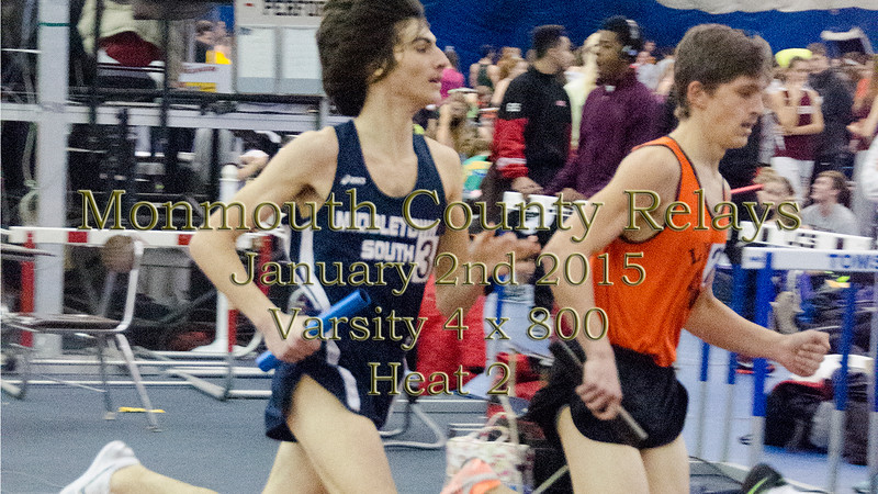 Video of Varsity 4 x 800 - Monmouth County Relays