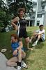 Triathletes Karen, Pierre and Olivio.  Bravo!!
