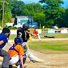 Ayer Shirley (11-1) dropped its first game of the Montachusett Summer League slate Sunday afternoon at Pirone Park. Nashoba Valley Voice/Ed Niser Ayer Shirley (11-1) dropped its first game of the Montachusett Summer League slate Sunday afternoon to Leominster at Pirone Park. Nashoba Valley Voice/Ed Niser