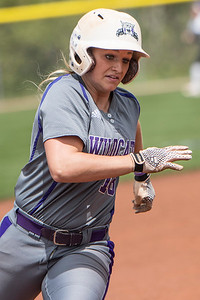 Weber State's softball team takes on the Montana Grizzlies during the Big Sky Softball Championships at Weber State University on May 6, 2017.