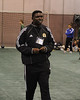 "Julius Ujeh presents ""Secrets of Defending"" for one of the coaching clinics field sessions"
