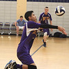 MT Dominic Funa gets down and saves the ball