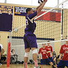 MT's Josh Gamache goes up to block