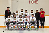 Moosonee Pee Wee Hawks Hockey Team 2012 March 5th.