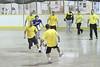 Indoor soccer at the Moosonee arena 2010 June 3, championship games.