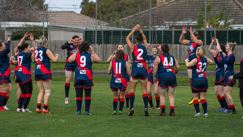 Mordialloc v Coburg - 2018 Monarch Women's AFL Masters Victorian Metropolitan Superules Round 2 Game 3