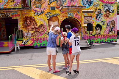 Fun at Granville's 4th of July Street Fair