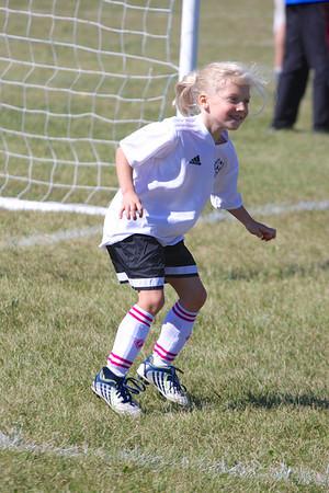 Morgan Girls Soccer September 2013